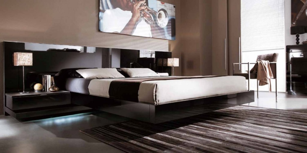 Camas elegantes y modernas tenga un cama de lujo - Camas modernas para jovenes ...