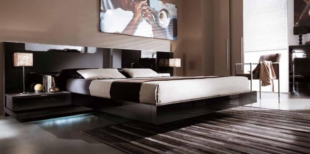 Camas elegantes y modernas tenga un cama de lujo for Modelos de dormitorios modernos matrimoniales