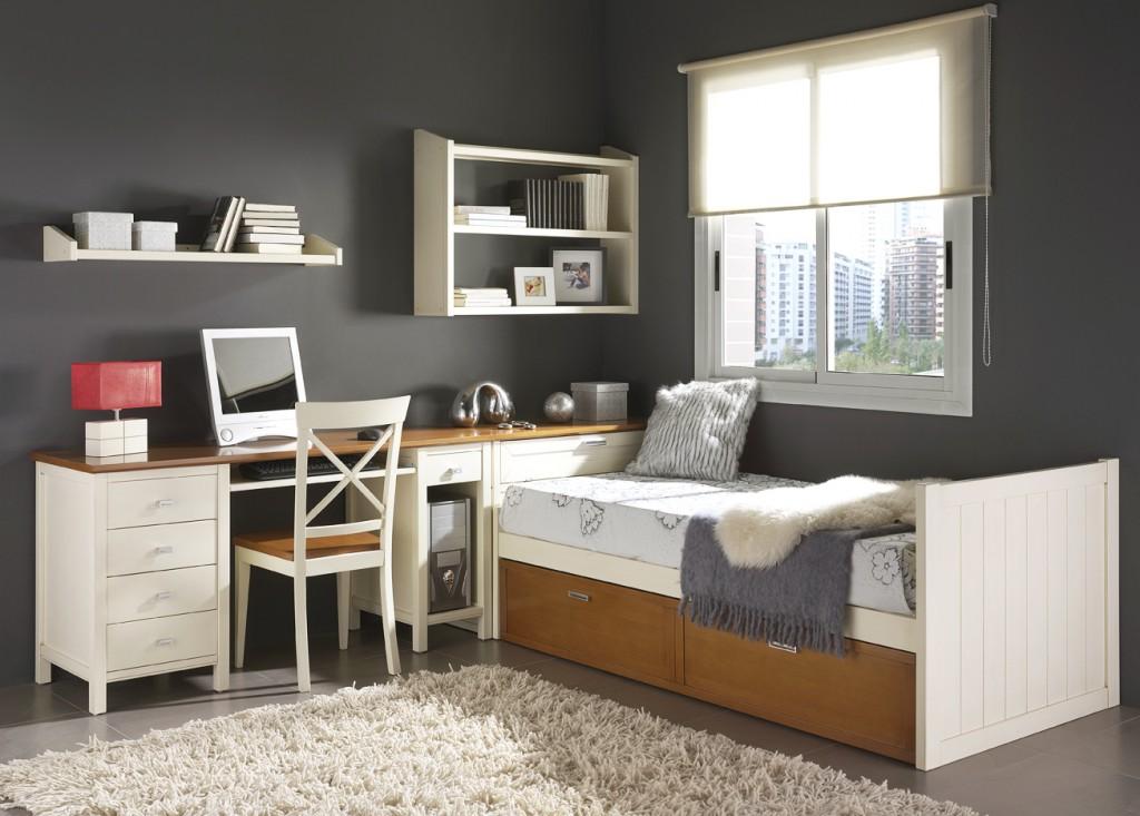 camas nido con escritorio2