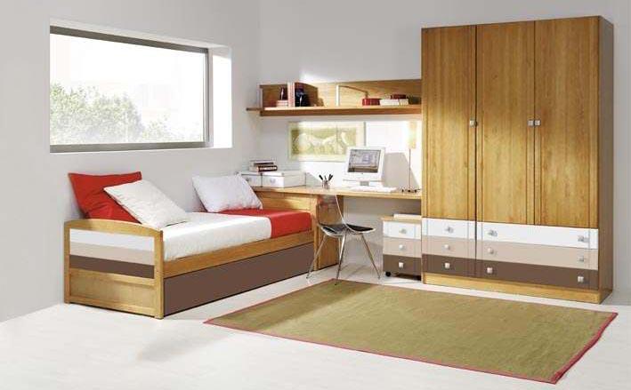 camas nido con escritorio4