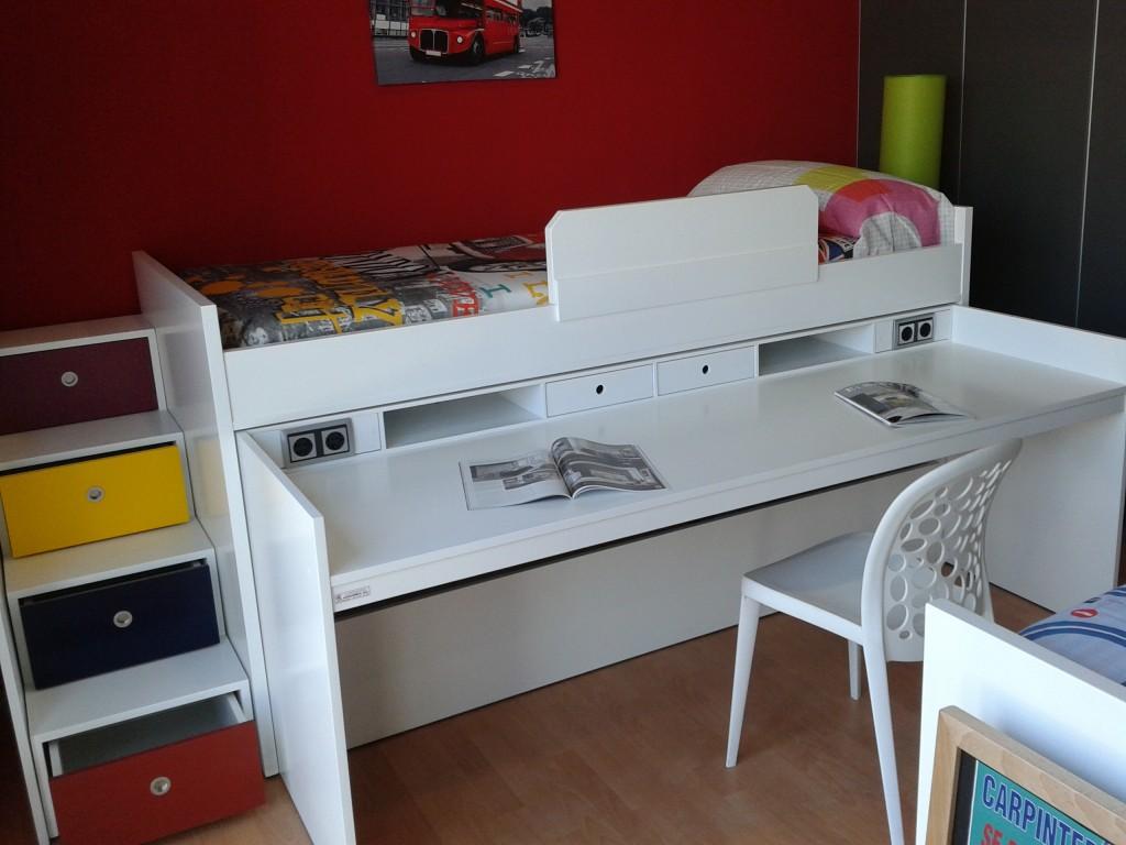 camas nido con escritorio3