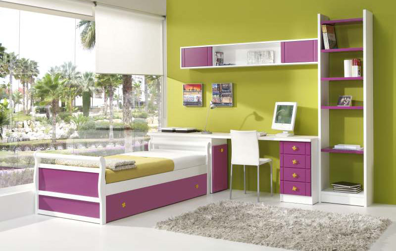 camas nido con escritorio5
