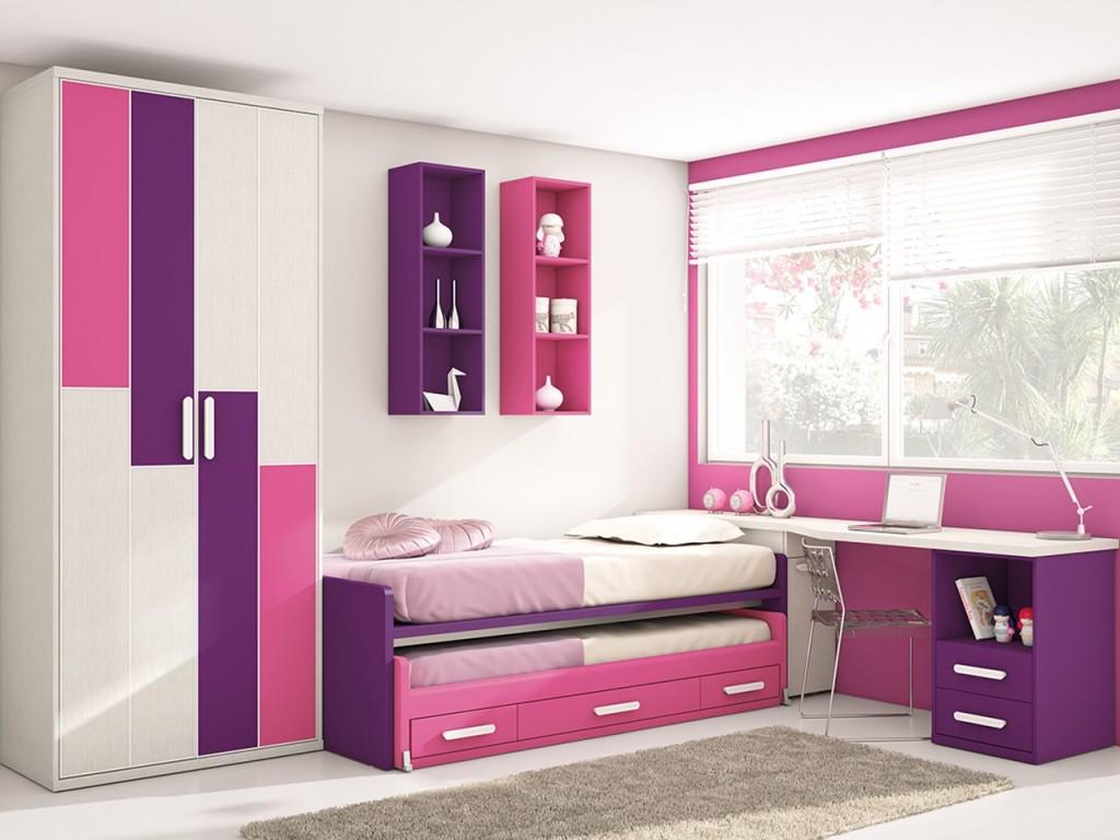 camas nido con escritorio6