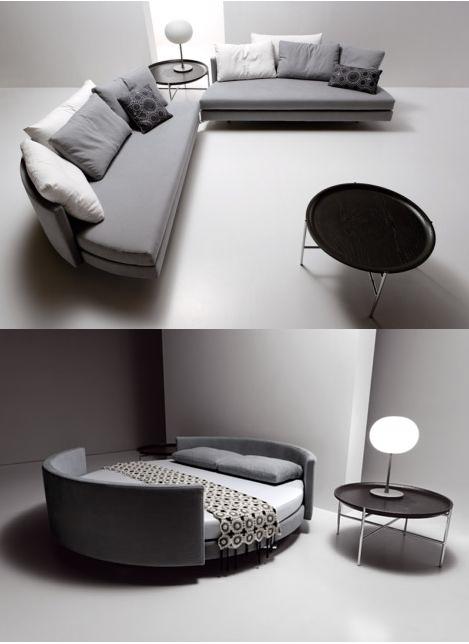 sofa cama redondo